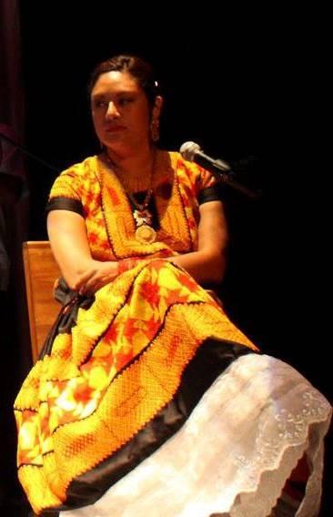 Irma Pineda, poetisa. Foto: gentileza de la artista.
