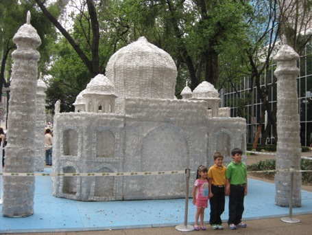 El Taj Mahal al estilo Ciel