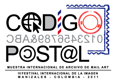 CDIGO POSTAL - MUESTRA INTERNACIONAL DE ARCHIVO DE MAIL ART 10 FESTIVAL INTERNACIONAL DE LA IMAGEN - MANIZALES - COLOMBIA