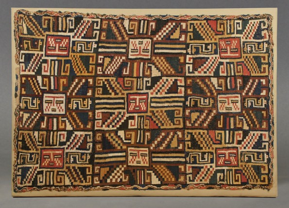 Nazca pre-Columbian textile work. Photo: www.precolumbianart4sale.com/