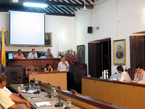 Patricia Lara M. Concejo Municipal Santa Fe de Antioquia. Ponencia del Proyecto Alerta Roja. 2011 Arte, regeneración urbana y conservación del patrimonio