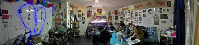panormica de La Canicera Punk
